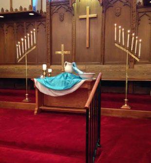 altar baptism
